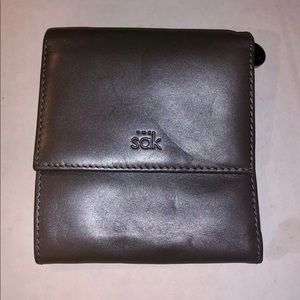 The Sak Dull Silver Wallet